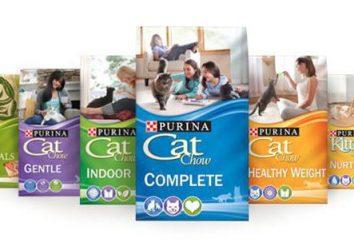 """Sucha karma dla kotów """"Cat Chow"""" (Cat Chow) z firmy Purina: skład, opinie"""