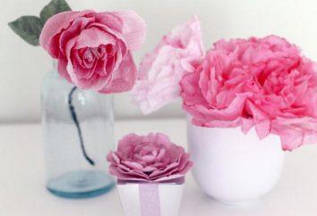 Três maneiras de fazer um rosebud de papel