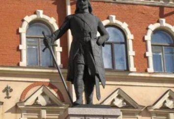 Torkel Knutsson Denkmal: eine Beschreibung und Foto des Denkmals