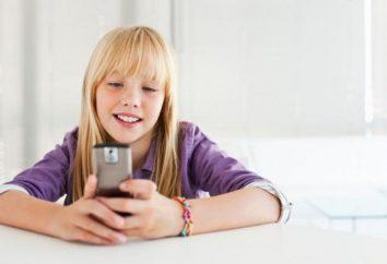 Wybierając telefon komórkowy dla Twojego dziecka: podstawowe kryteria i ulubiony model