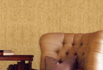 Papel de parede têxtil: tudo novo – é bem esquecido de idade