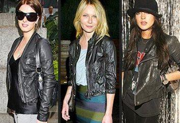 Come e cosa indossare giacche di pelle?