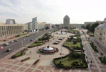 Minsk, Plaza de la Independencia: fotos, lugares