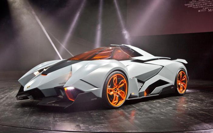 Panoramica Della Vettura Lamborghini Egoista