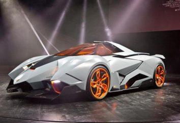 Przegląd samochodu Lamborghini egoista
