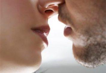 Interessanterweise und was ist ein Kuss?