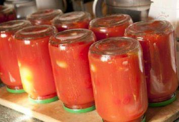 Ein einfaches Rezept für Tomaten im eigenen Saft ohne Sterilisation