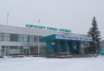 Aeroporto (Gorno-Altaisk): descrizione e la storia