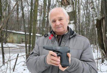 Pistolet à chargement automatique Serdioukov: caractéristiques et photo