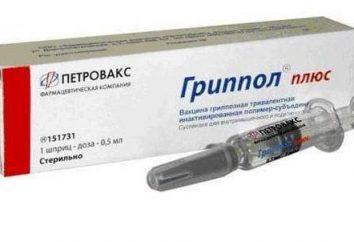 vaccins contre la grippe: avis. Le vaccin contre la grippe « Grippol », « Flyuvaksin »