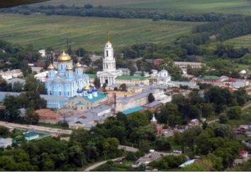 Atrações região Zadonsk Lipetsk