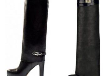Bottes « Givenchy » – une variété de modèles