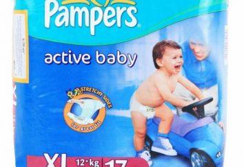 """Pampers """"Bebê ativo"""" – um sono tranquilo e pele seca"""
