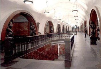 Estações Fantasma do metrô de Moscou. Descrição da lista