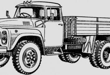 Caminhão ZIL-431410: especificações do carro