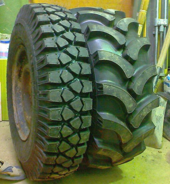 adhérance des pneus tracteurs larges