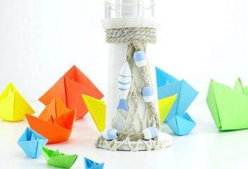 Come rendere origami barchetta di carta per i bambini: guida passo per passo