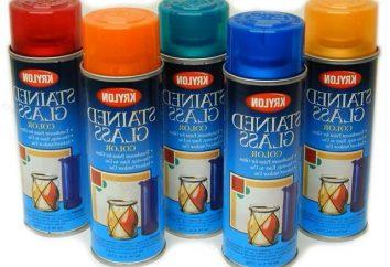 Escolhendo uma pintura de vidro manchado
