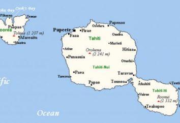 Tahiti – w jakim kraju?