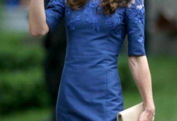 Vestito blu per una fashionista romantica