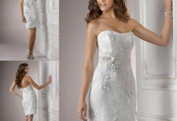Courtes robes de mariée – avec un maximum de style longueur minimale