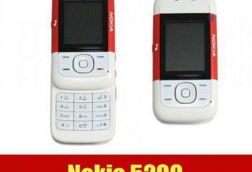 Przegląd telefonu komórkowego Nokia 5200