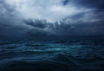 Indischer Ozean: geographische Lage, Bodenrelief