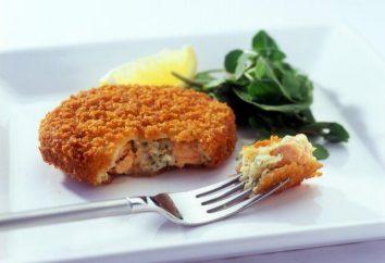 Côtelettes d'un poisson rouge: les meilleures recettes et en particulier la cuisine