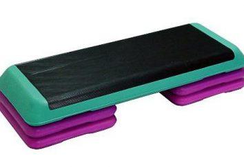 Krok platforma własnymi rękami. Jak zrobić platformę krok aerobik