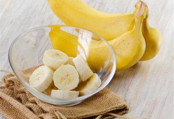 ¿Puedo tener un plátano para la noche? Beneficios y los daños