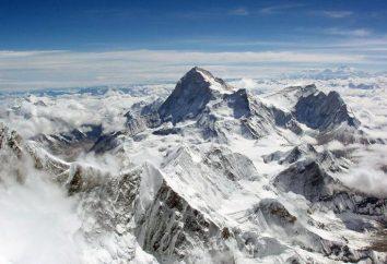 A montanha mais alta da Terra. Qual é a montanha mais alta do mundo, na Eurásia e na Rússia