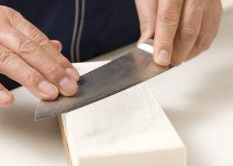 Come affilare i coltelli per la cucina?