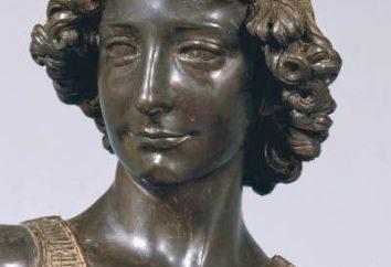 Donatellos Reiterstandbild. Die Bildhauer der Renaissance. Denkmal für Gattamelata