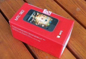 MTS teléfono inteligente 982T: revisión y comentarios de los propietarios