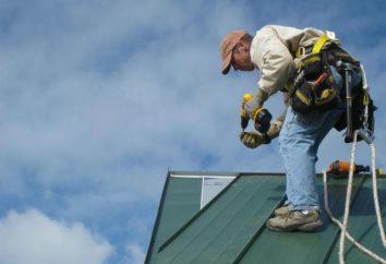 Szew pokrycie dachu: technologia montażu własnymi rękami