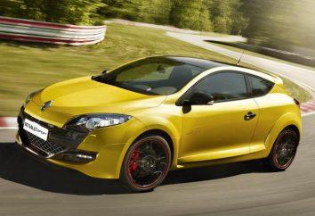 Renault Megane RS: conception, spécifications techniques, la description de la voiture puissante et dynamique
