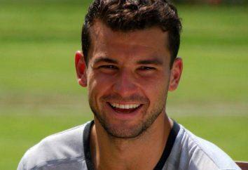 Grigor Dimitrov – un joueur de tennis talentueux de la Bulgarie