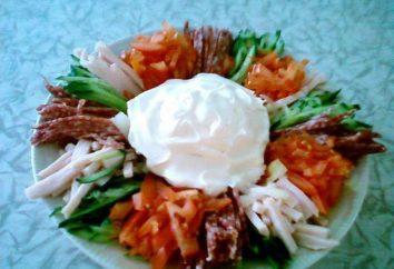 Salade « Paparats Kvetka »: ingrédients, méthode de cuisson