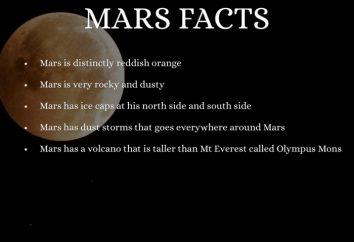 Los datos más interesantes sobre Marte