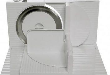 trancheuse électrique Bosch: description et avis