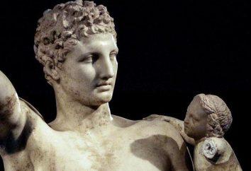 """""""Hermes con il bambino Dioniso"""". Mito e descrizione della scultura"""