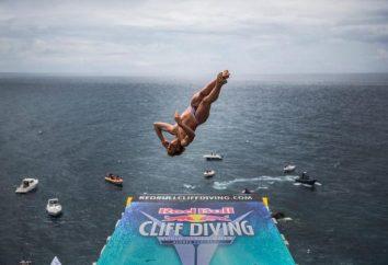 Cliff Diving: skoki z wysokości z wykonaniem elementów akrobatycznych