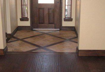 A quel étage dans le couloir faire? des conseils d'experts et l'examen des matériaux