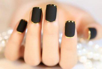 Manicure per unghie quadrate. Idee per forma quadrata manicure