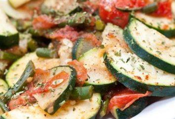 Come cucinare le zucchine fritte con pomodoro e aglio?