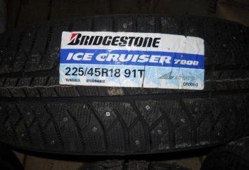 Neumáticos Bridgestone hielo Cruiser 7000: opiniones, ventajas y desventajas