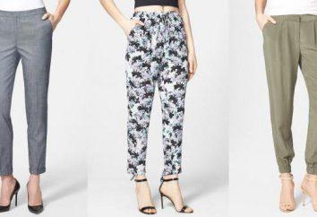 Les meilleurs modèles de pantalons pour femmes: photo