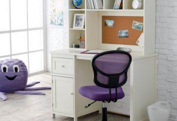 Table orthopédique et chaise pour un étudiant: conseils sur le choix et commentaires