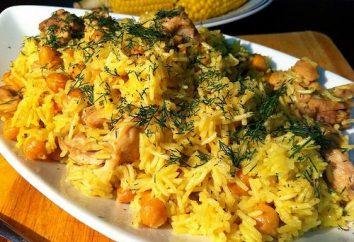 Jak gotować risotto na patelni, używając wieprzowiny i ryż długoziarnisty?