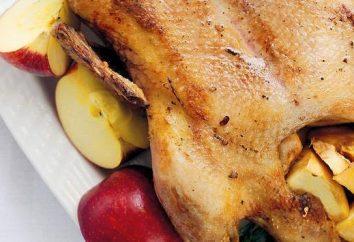 Anatra al forno con mele: ricetta